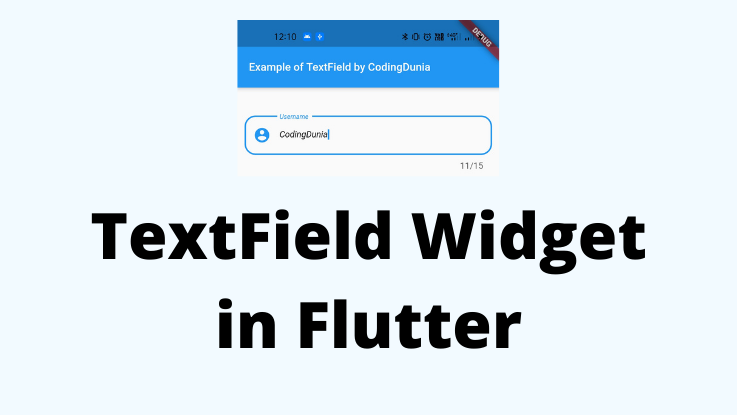 You are currently viewing TextField Widget   EditText in Flutter